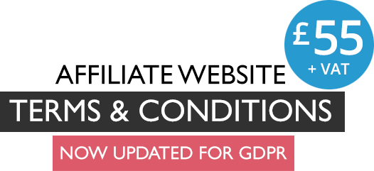 Affiliate Website Terms and Conditions