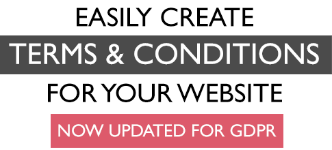 Create your own website terms and conditions