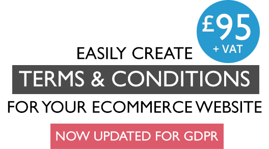 eCommerce Terms and Conditions for your Web Site